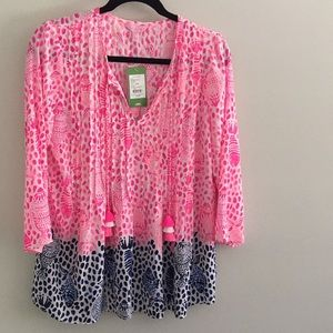 Lily Pulitzer Marlina Top Brand New (S)